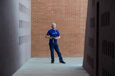 David at ASU corridor  blur 3434