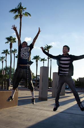 Jason & Kevin levitating ASU3428