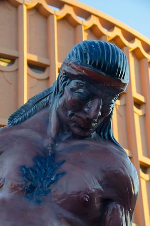Indian statue ASU3442