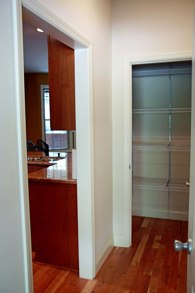 2nd pantry/ closet doorway from double car garage