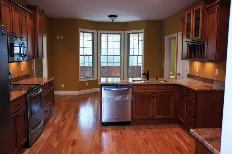 From Dining Room into the Kitchen