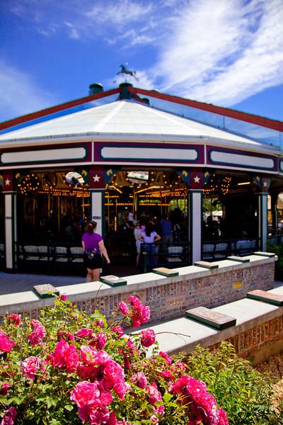 Carousel in Caras Park