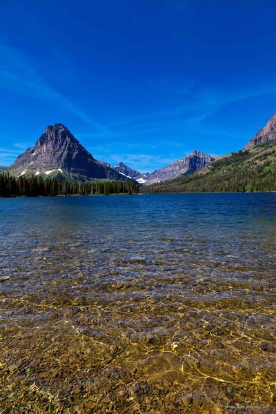 Glacier Park - Two Medicine lake