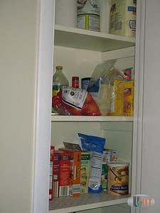 Storage closet detail.