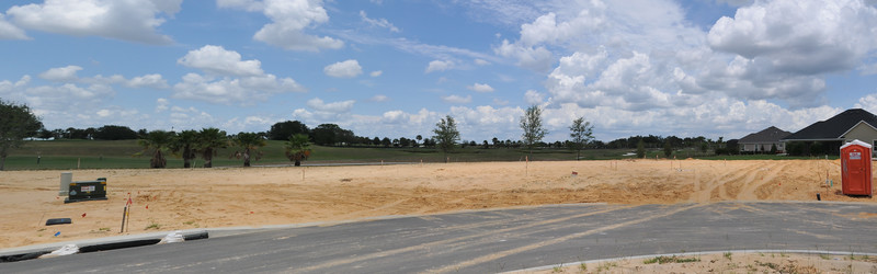 5-15-12 Lot 32, house is roughly staked out.