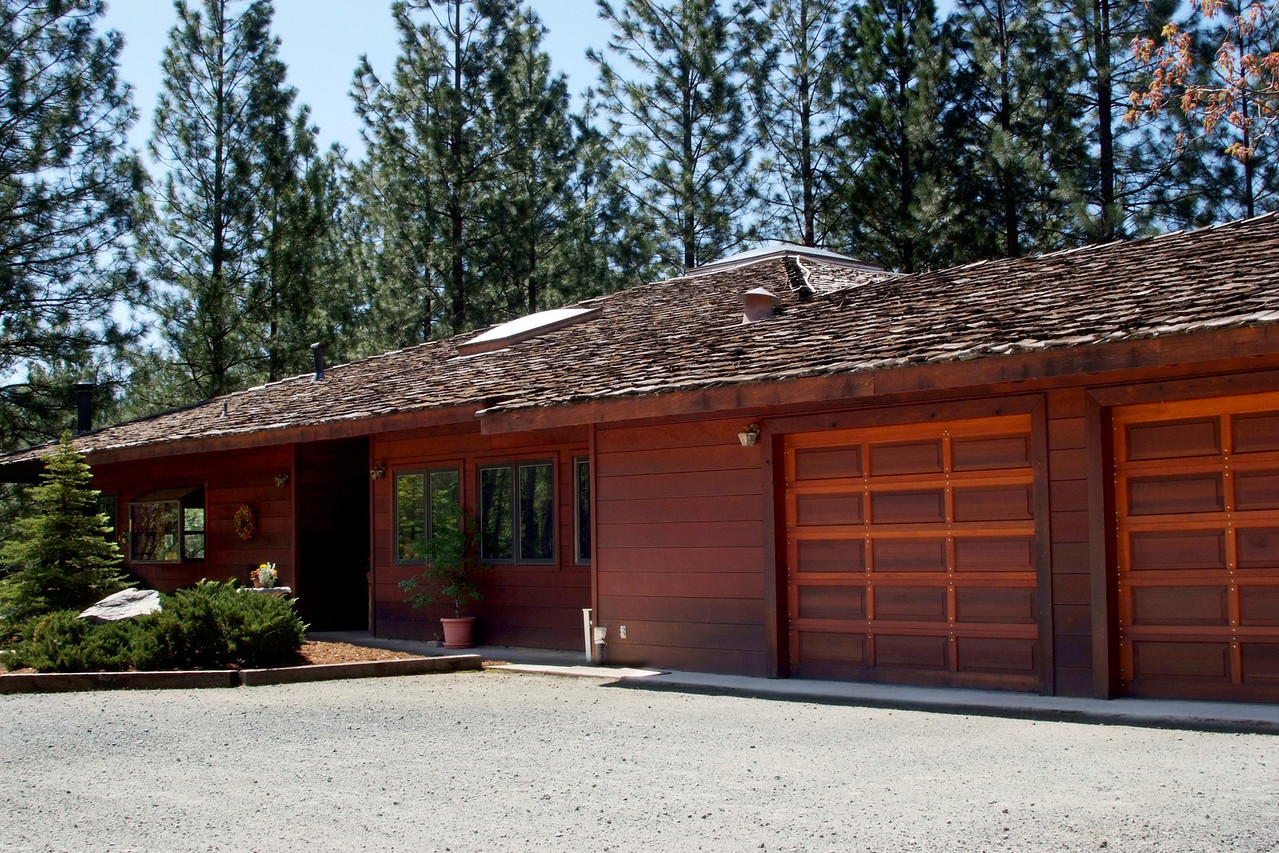 front with garage