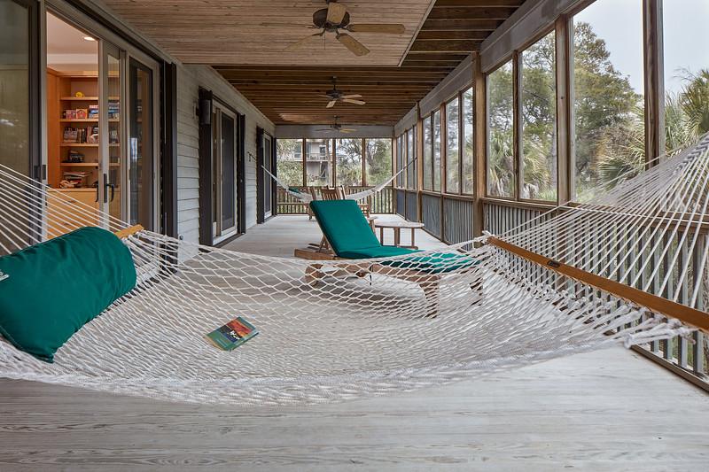 Dewees Island Design: Porch