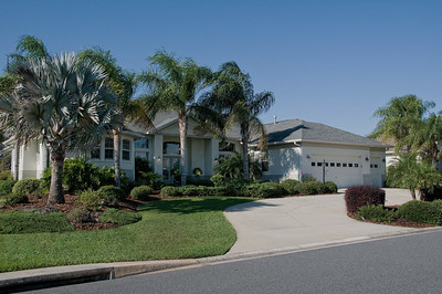 Same home photographed by Lifestyle Reflections.  Notice that there is detail in both the highlights and the shadow areas.  The driveway is not washed out, vegetation is more natural in color, the street sign shadows have been removed and there is no sign of any yellowing grass burnout as it never really existed..  The sky is Blue, that is a big deal when selling homes in Florida.  Buyers want to see Blue sky.  See more side by side comparisons at: http://www.lifestyle-reflections.com/RealEstate/Photo-comparison-Amateur-vs/22760951_STfdb3#!i=1825704995&k=HmBfKbn