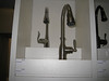 IMG_4389<br /> Standard Kitchen Faucet: Arbor (shown on left) with brushed nickel finish (as shown on right)