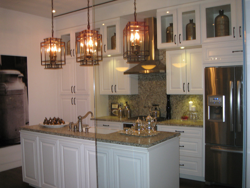 "IMG_4363<br /> Traditional kitchen Design with upgraded level 7 cabinets;  Option to add 18"" cabinets above 6,430."