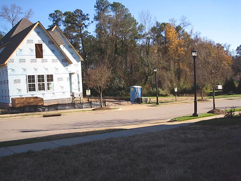 360 degree view from Lot 8.  Home across the street (under construction) is located on Lot 17 (Lot 18 is to the right).