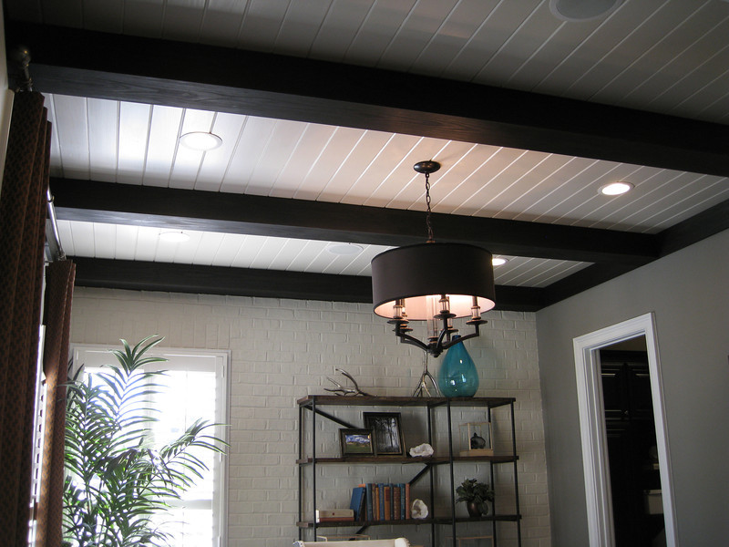 Ceiling - first floor study