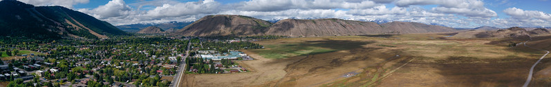Town of Jackson and Elk refuge