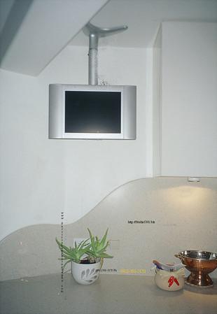 1900 lobby monitor; corian wave backsplash