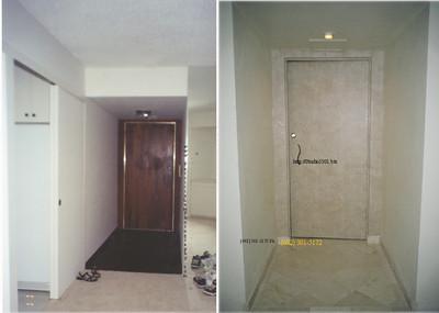 1900 Entry Door bef02 after 2003