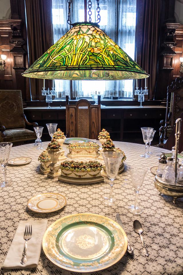 Dawes House Dinner Table
