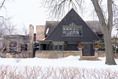 Frank Lloyd Write's Home and Studio in Oak Park, IL