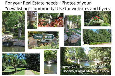 A Realtor needs a photographer!   Email me today at lindam@calmenterprises.com for details.