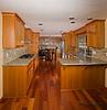 Renovated designer kitchen.