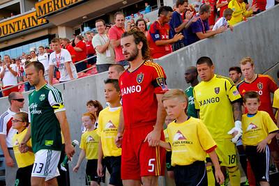 Real Salt Lake vs Portland 7-7-2012