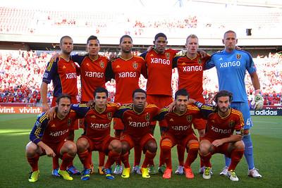 Real Salt Lake vs Carolina Railhawks * Open Cup 6-26-2013.