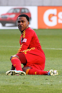 Real Salt Lake vs Seattle Sounders FC  3-30-2013. Robbie Findley (10)