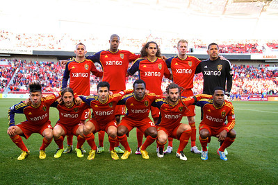 Real Salt Lake vs Seattle Sounders FC  3-30-2013. Starting Line up.
