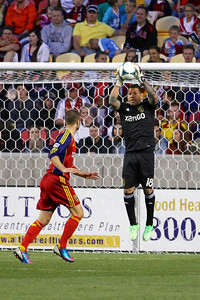 Real Salt Lake vs Vancouver Rapids 5-4-2013. Nick Rimando (18)