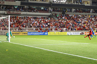 Real Salt Lake vs Philadelphia Union 7-3-2013. RSL ties Philly 2-2. Javier Morales (11)