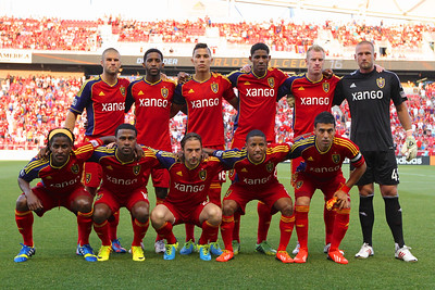 Real Salt Lake vs Philadelphia Union 7-3-2013. RSL ties Philly 2-2.