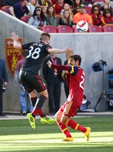 Real Salt Lake vs Toronto FC on 3-29-2015 at Rio Tinto Stadium. RSL defeats Toronto 2-1.