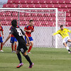 Real Monarchs vs Colorado Springs Switchbacks FC at Rio Tinto Stadium 08-26-2015. The Monarchs defeat the Switchbacks FC 2-1.