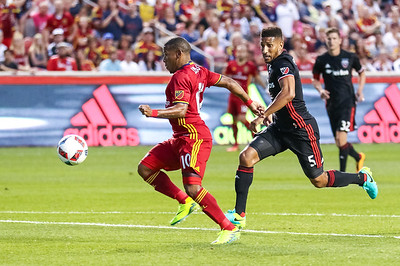 Real Salt Lake versus DC United at Rio Tinto Stadium on 07-01-2016. RSL draws with DC United 1-1. #asone  #believe  #RSL  ©2016 Bryan Byerly