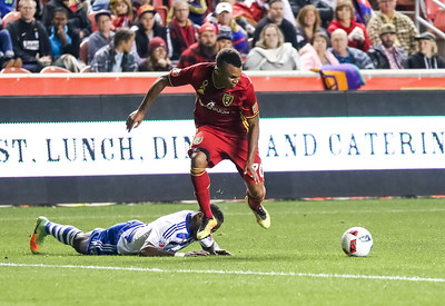Real Salt Lake versus FC Dallas at Rio Tinto Stadium on 09-24-2016. RSL draws with the Galaxy 0-0. #asone  #believe  #RSL  ©2016 Bryan Byerly