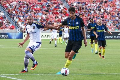 Real Salt Lake versus Inter Milan at Rio Tinto Stadium on 07-19-2016. RSL loses to Inter Milan 1-2. #asone  #believe  #RSL  ©2016 Bryan Byerly