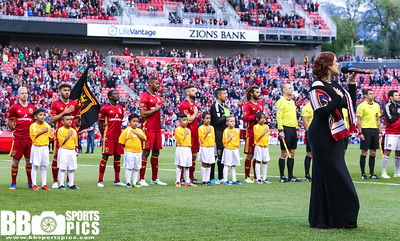 Real Salt Lake vs Atlanta United at Rio Tinto Stadium 04-22-2017. RSL loses to United 1-3. #RSL #RSLvATL #ASONE #BELIEVE   ©2017 Bryan Byerly