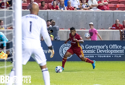 Real Salt Lake vs Colorado Rapids at Rio Tinto Stadium 08-26-2017. RSL defeats the Rapids 4-1. #RSL #RSLvCOL #ASONE #BELIEVE   ©2017 Bryan Byerly