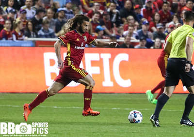 Real Salt Lake vs LA Galaxy at Rio Tinto Stadium 03-18-2017. RSL loses to the Galaxy 1-2. #RSL #RSLvLA #ASONE #BELIEVE   ©2017 Bryan Byerly