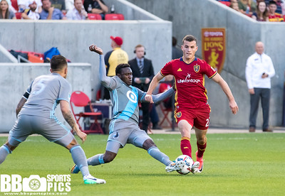 Real Salt Lake vs Minnesota United FC at Rio Tinto Stadium 06-17-2017. RSL defeats Minn United FC 1-0. #RSL #RSLvMINN #ASONE #BELIEVE   ©2017 Bryan Byerly