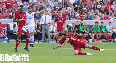 Real Salt Lake vs Orlando City SC at Rio Tinto Stadium 06-30-2017. RSL loses to Orlando 0-1. #RSL #RSLvORL #ASONE #BELIEVE   ©2017 Bryan Byerly