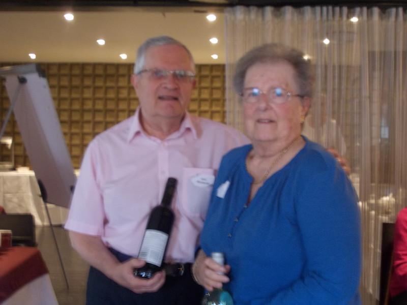 Friday evening pairs: Ivor Richards & Jill Richards