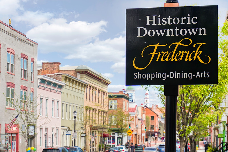 Downtown Frederick Sign