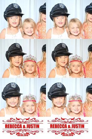 Rebecca (Arnegard) & Justin Chapin Photo Booth 09/09/2016