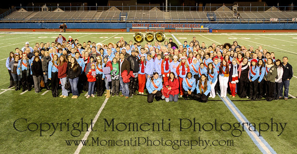 2013 SHS Band Senior Group Photo