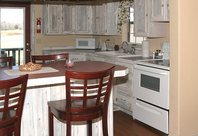 "Taken with my Tamron 28-75 f/2.8 Lens+550EX Flash. ""The Cottage""  The Kitchen area. Cute, huh!"