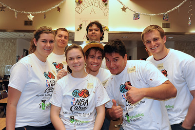NBA Cares Prep Day