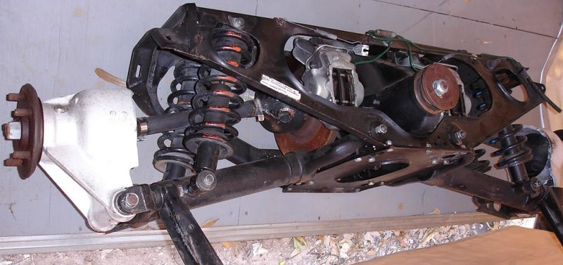 Jaguar XJS/XJ6 rear end assembly that's going in the '49