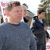 Shirley recall election was held on Monday January 30, 2017 at Town Hall. hanging out and waving to voters as they pull in to vote is Bob Prescott. Behind him is Bryan Dumont and Gunnar Kane. SUN/JOHN LOVE