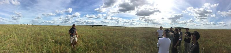 Flat field location