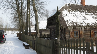 Rumsiskes village/Russian countryside